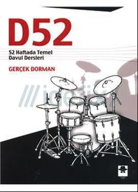 D52 52 Haftada Temel Davul Dersleri-Gerçek Dorman