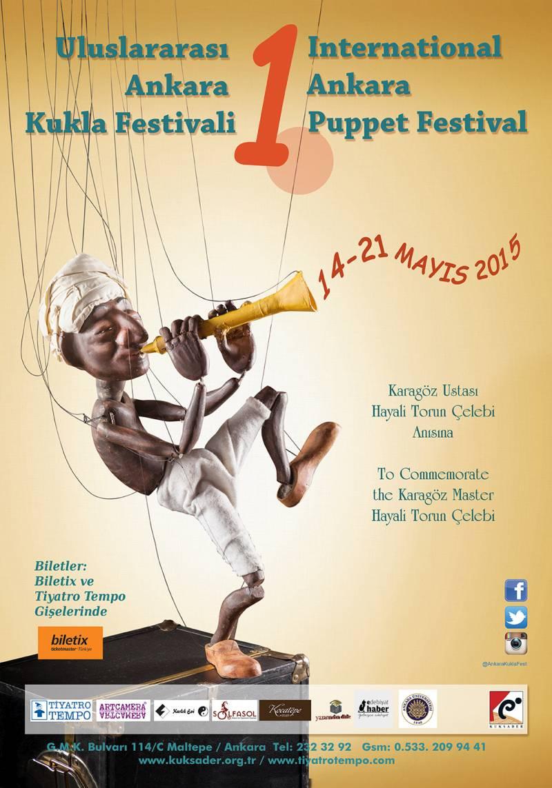 1.Uluslararası Ankara Kukla Festivali