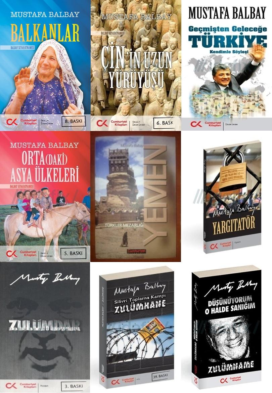 Mustafa Balbay - Kitaplar