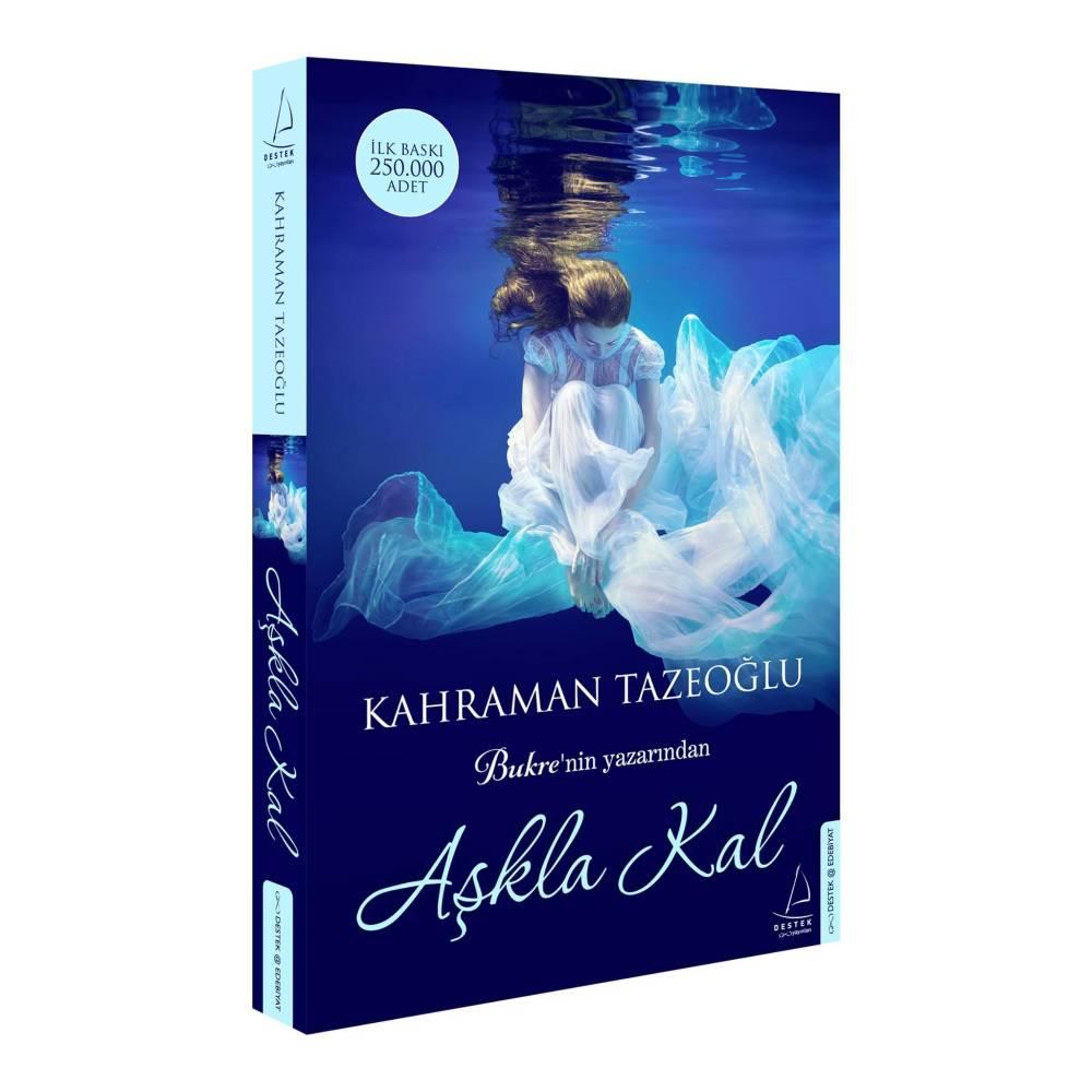 Kahraman Tazeoğlu – Aşkla Kal Kitap Çekilişi