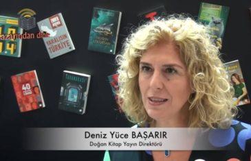 Deniz Yüce Başarır - Röportaj - 34. İstanbul Kitap Fuarı